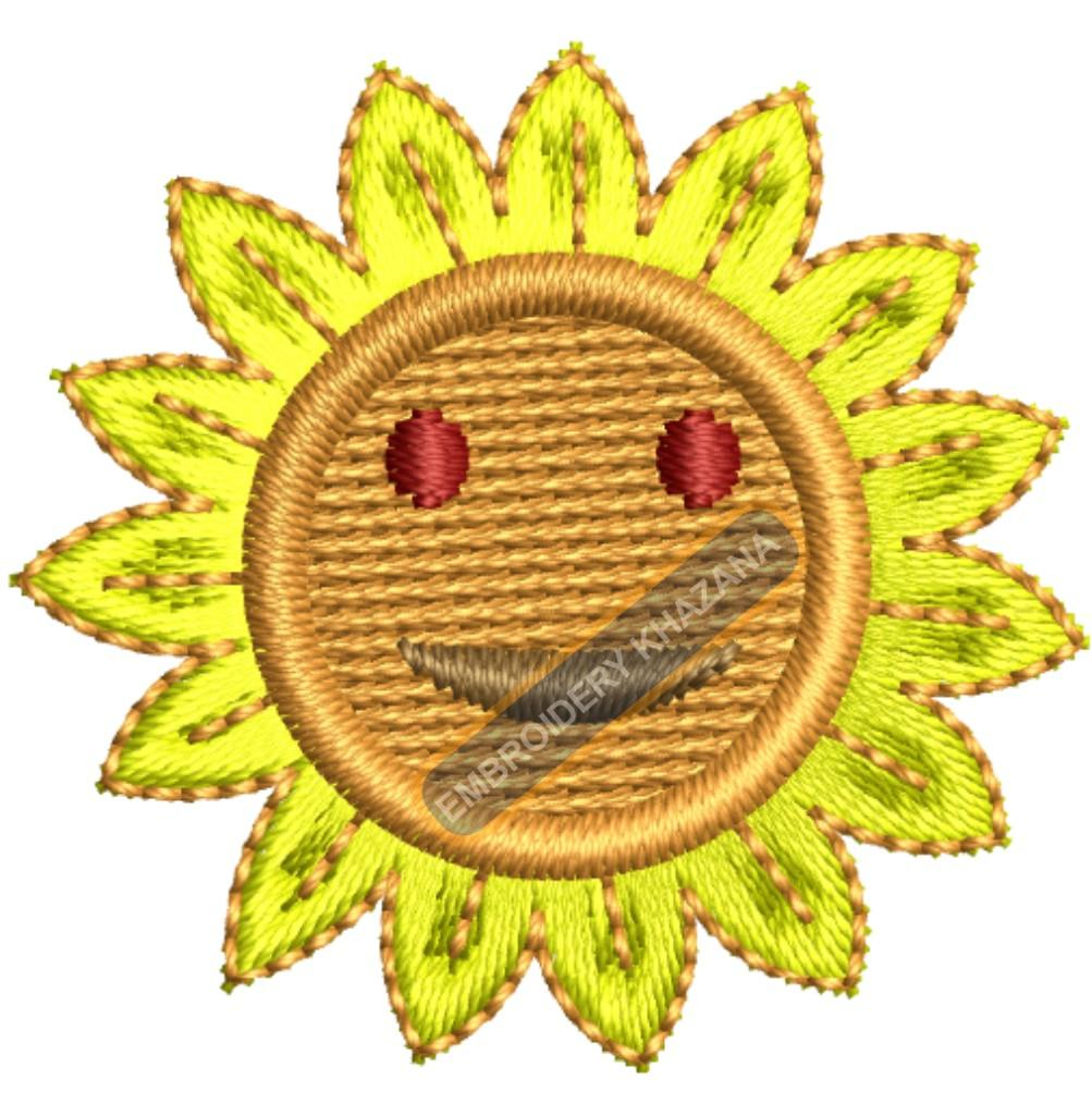 1433408343_Sunflowers Face embroidery.jpg