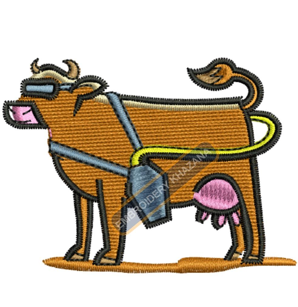 Stylish Cow