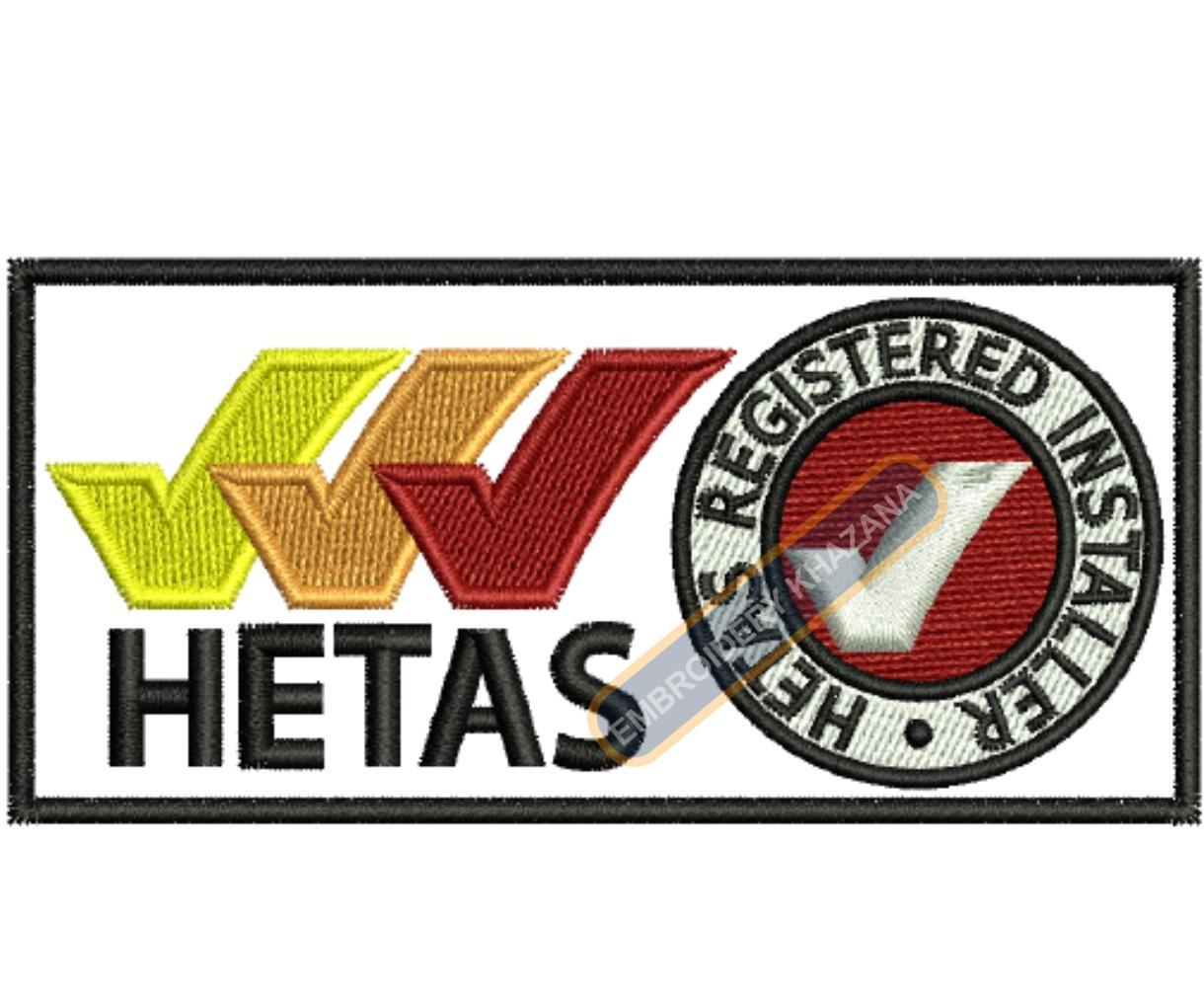 Hetas Logo Embroidery Designs
