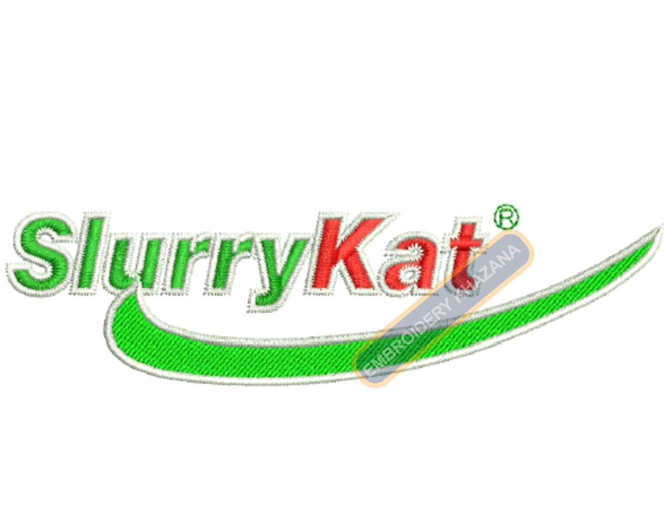 Slurrykat Logo Embroidery Designs