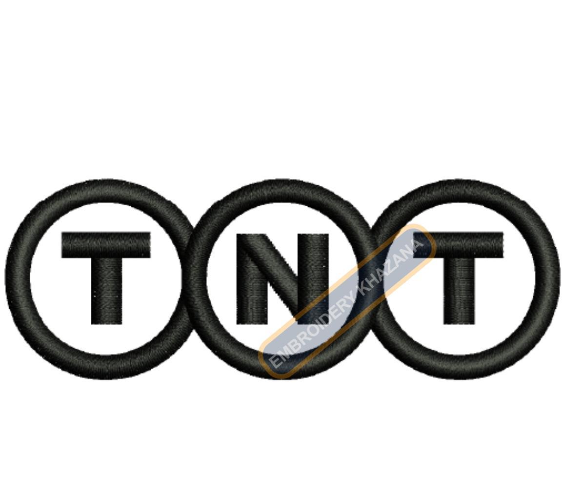 TNT Logo Embroidery Designs