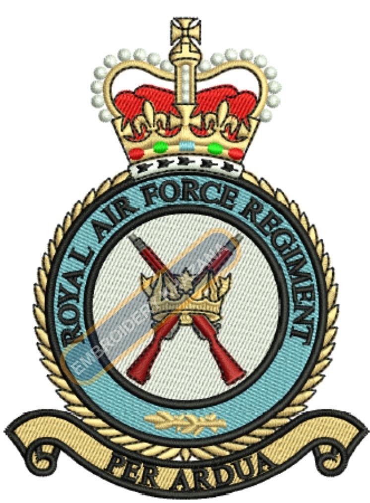 royal airforce regiment badge