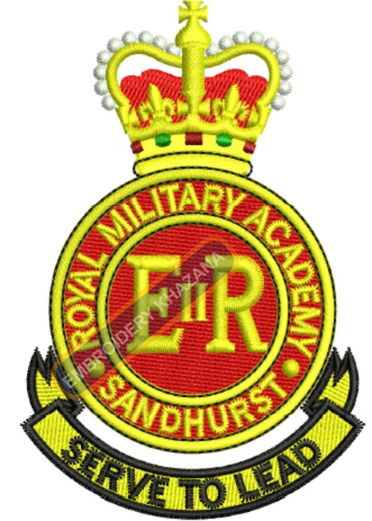 royal military acadamy sandhurst badge