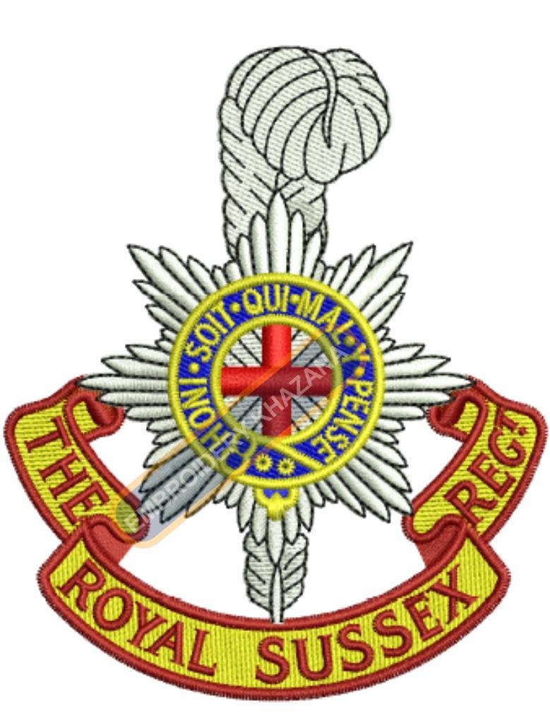 the royal sussex regiment badge