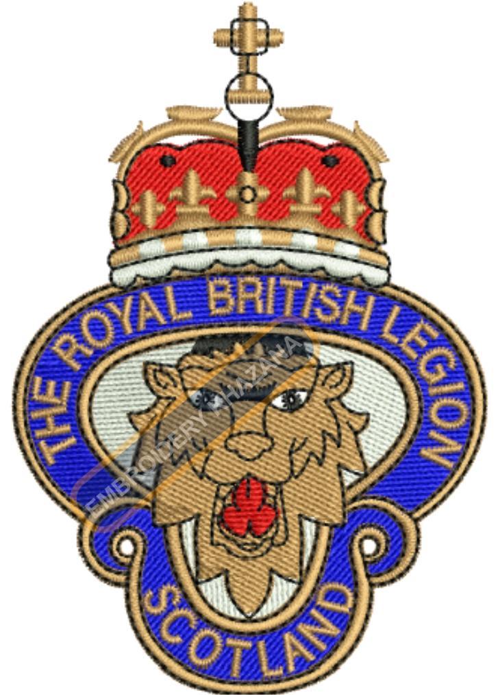 the royal british legion scotland crest