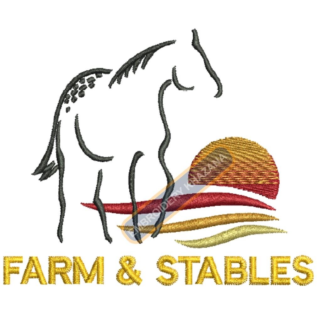 farm stables horse