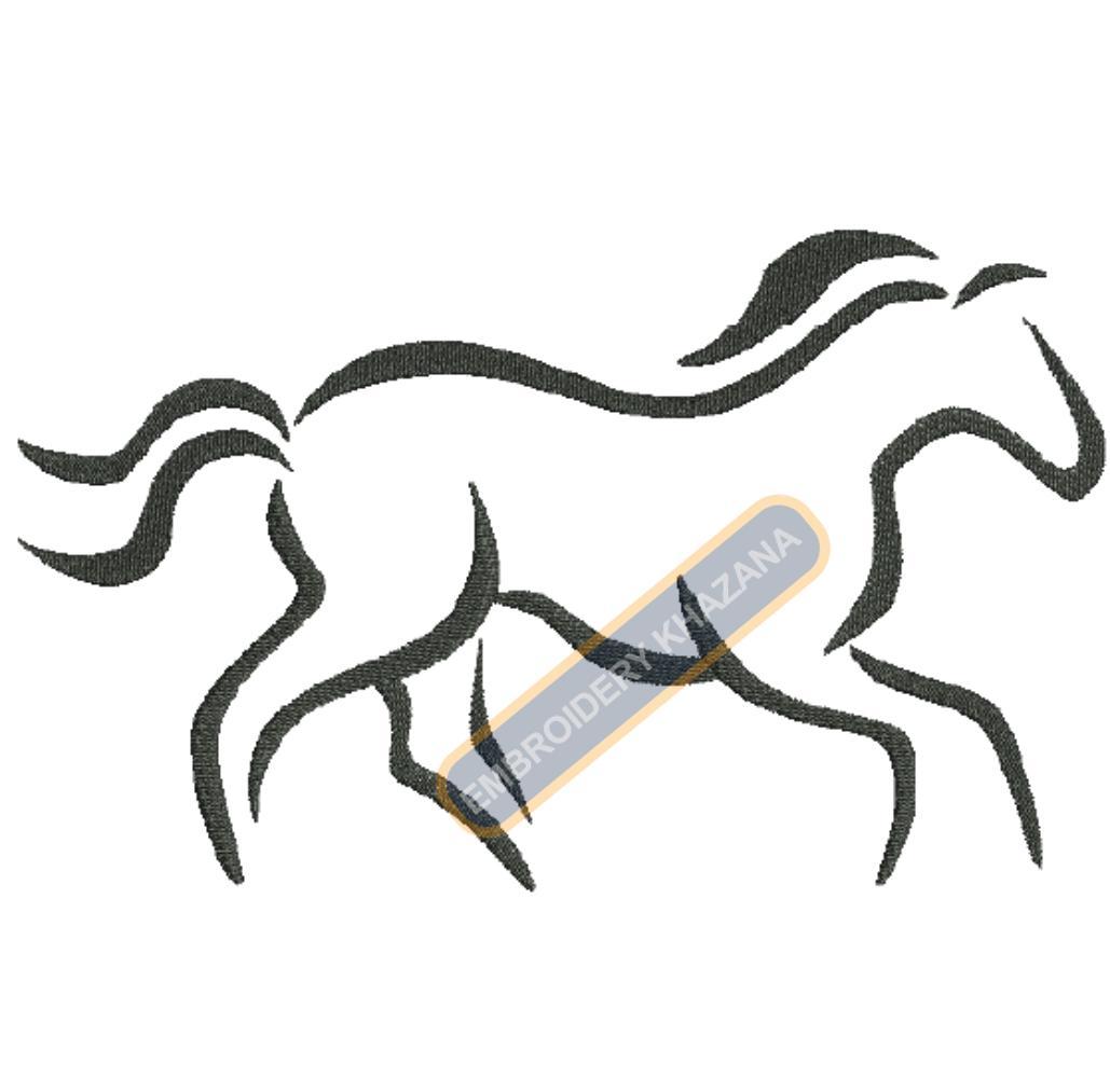 harley davidson logo embroidery design