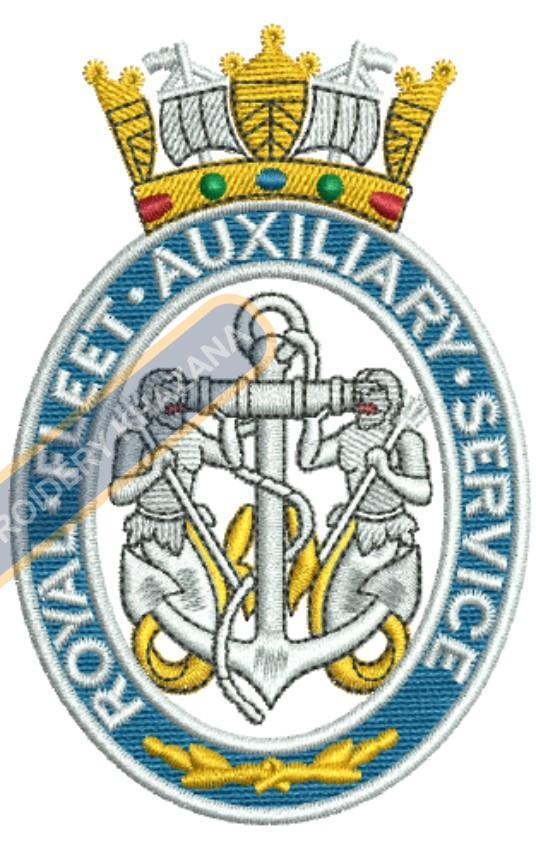 royal fleet auxiliary service badge