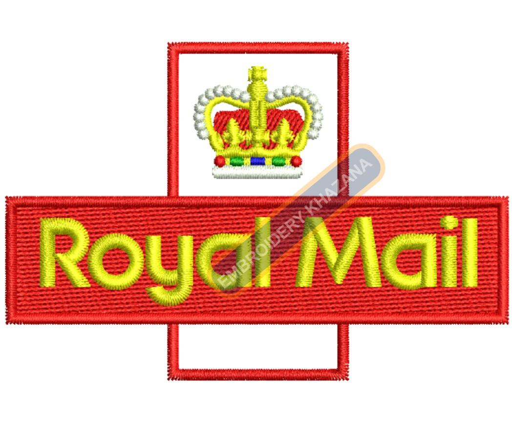 ROYAL MAIL embroidery design