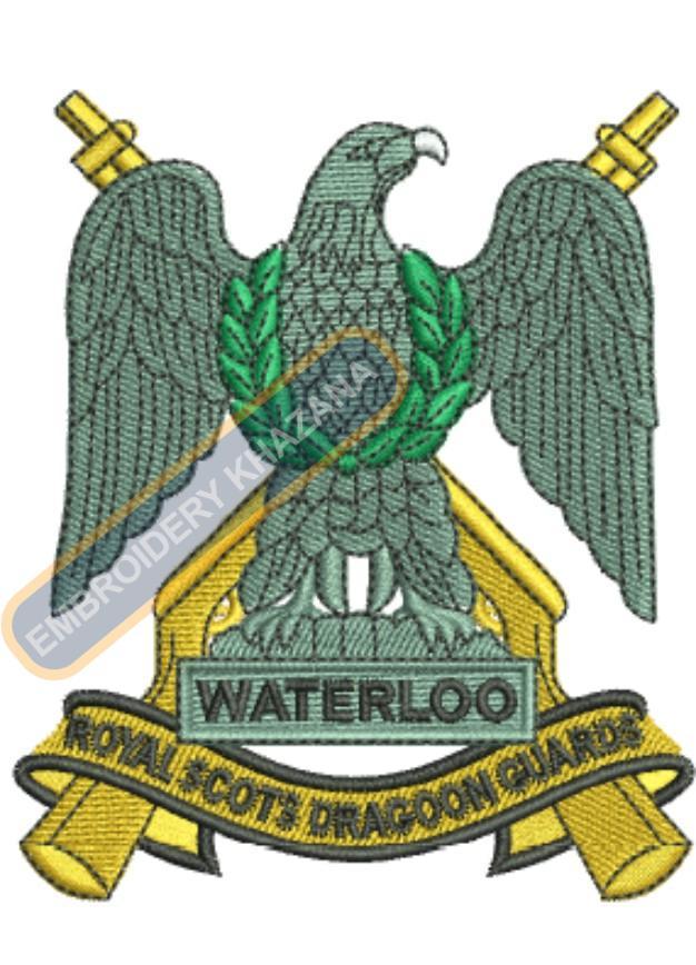 royal scots dragoon guards badge