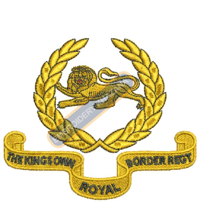 the kings own royal border regiment badge