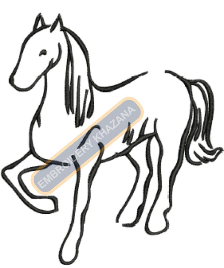 horse border