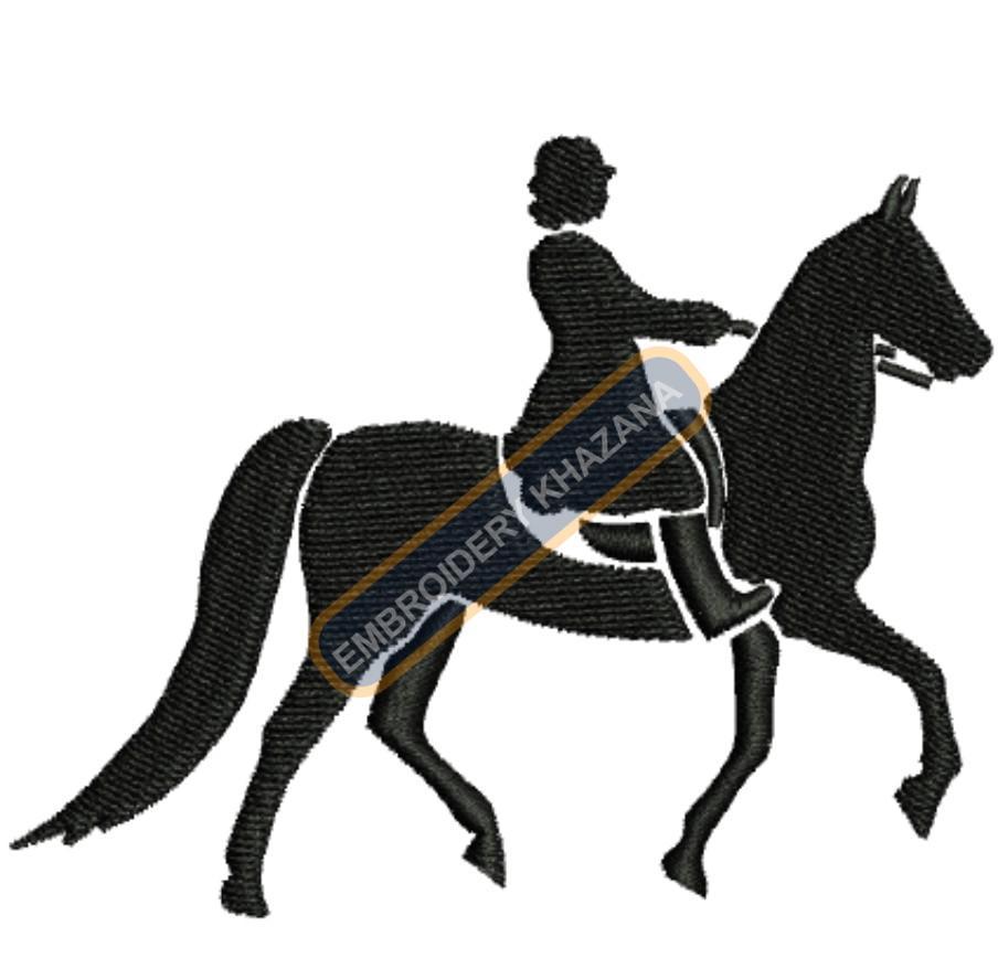 girl horse ridding