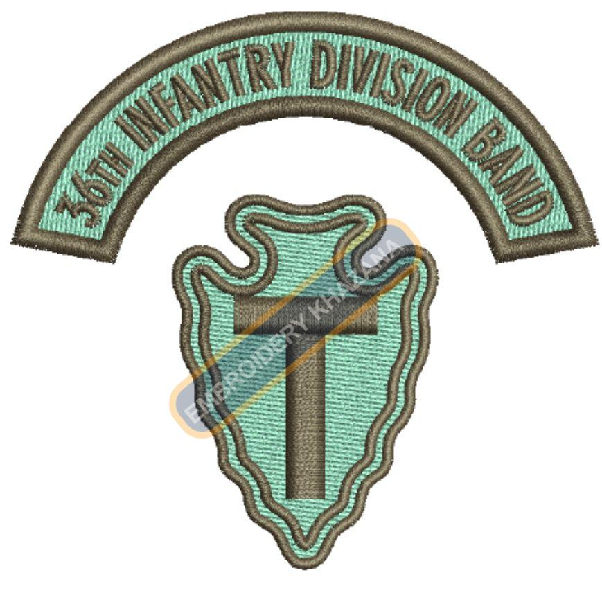 36th Infantry Division badge