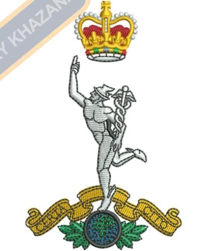 royal corps of signals embroidery design