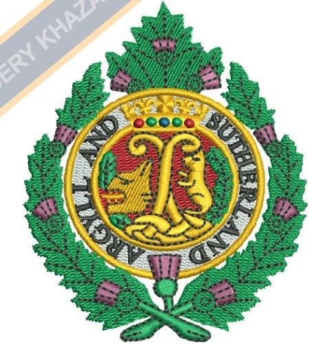 Argyll and Sutherland Highlanders crest