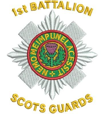 1st battalion scots guards badge