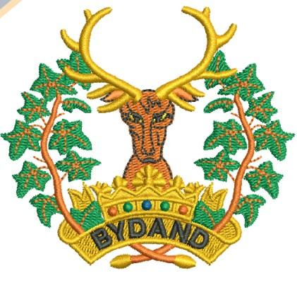 explore bydand badge embroidery design