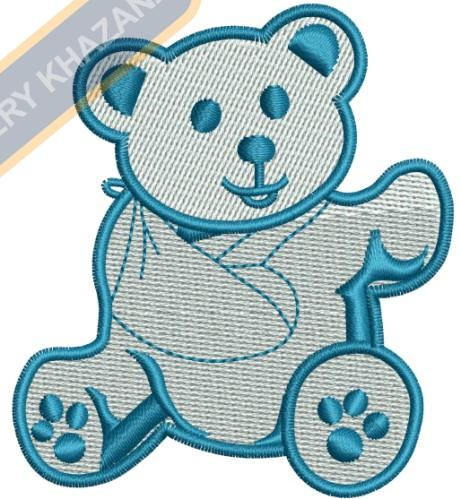 fracture Teddy bear
