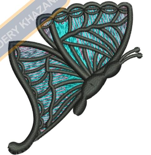 BUTTER FLY embroidery design