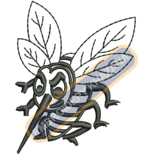 Hornets  embroidery design