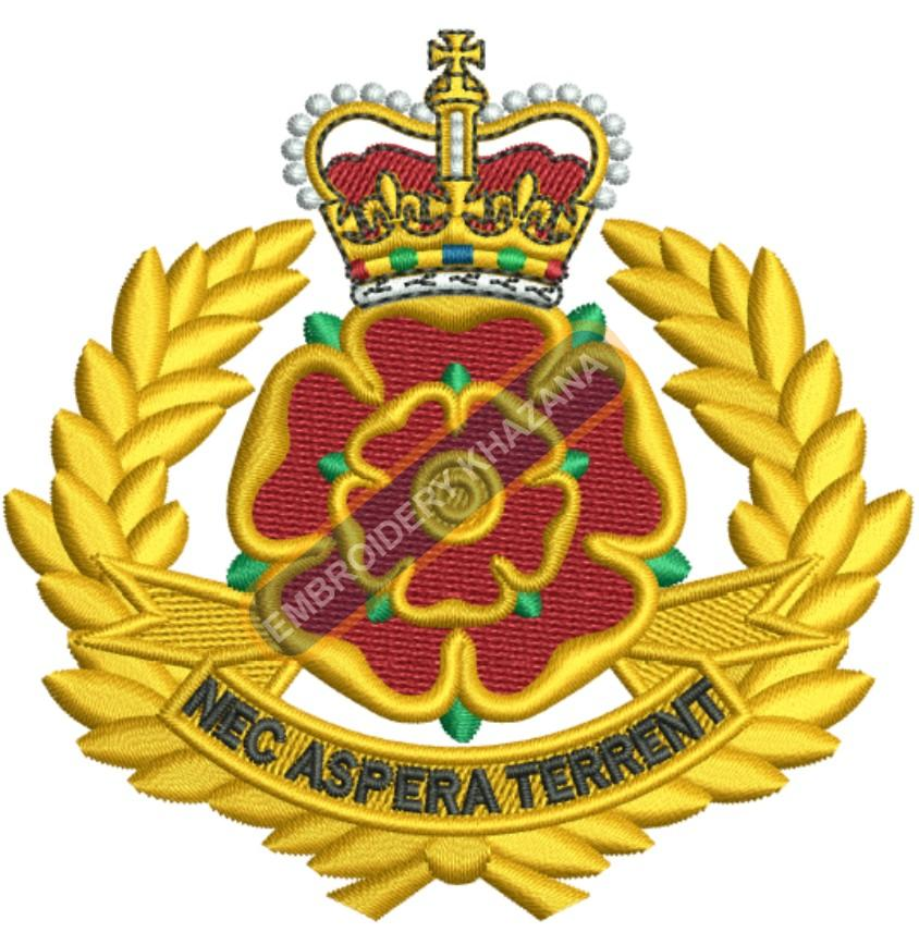Duke of Lancaster Regiment crest