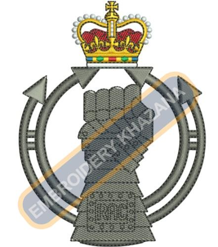 The Royal Armoured corps crest