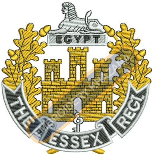 The Essex Regiment embroidery design
