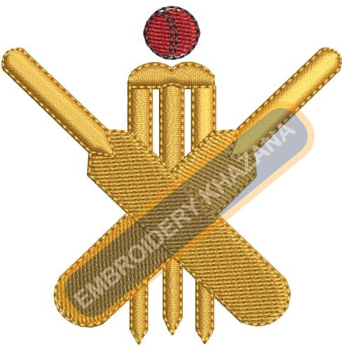 Cricket stamp and ball