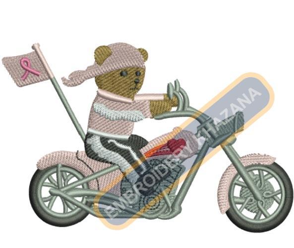 Cancer awareness bike
