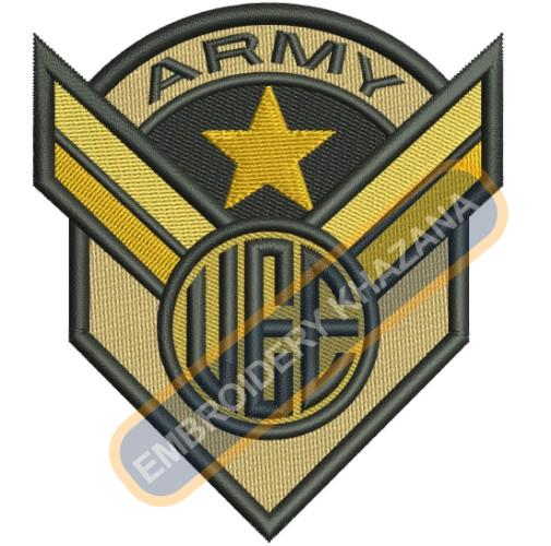 Army Uee embroidery design
