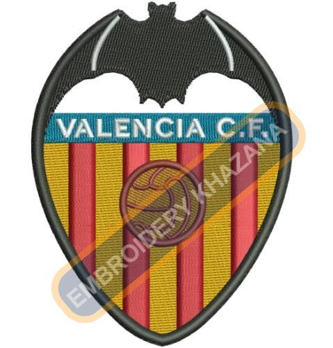 Valencia CF Logo Embroidery Designs