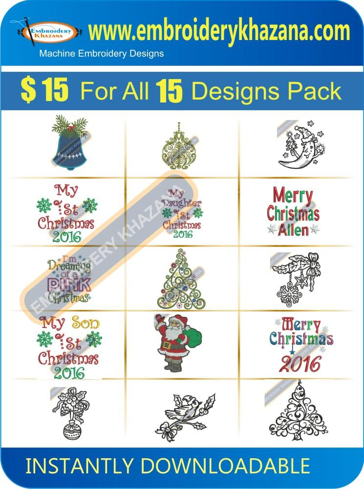 Christmas Design Pack 3