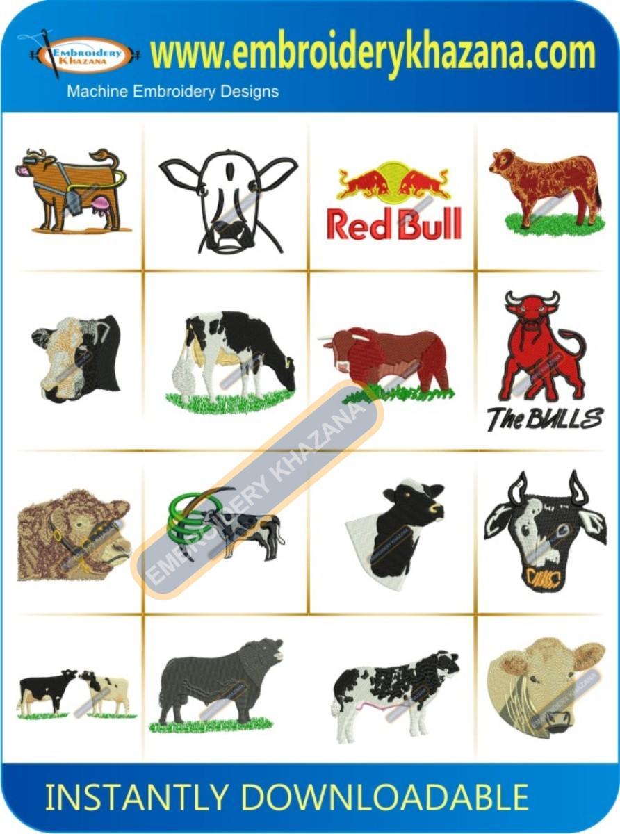 COW & BULL DESIGN PACK
