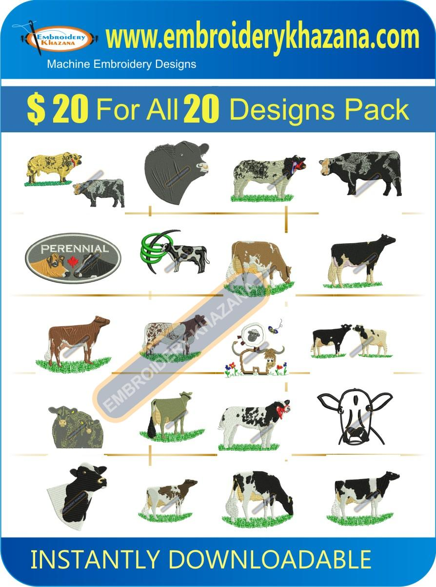 COW And BULL DESIGN PACK 1