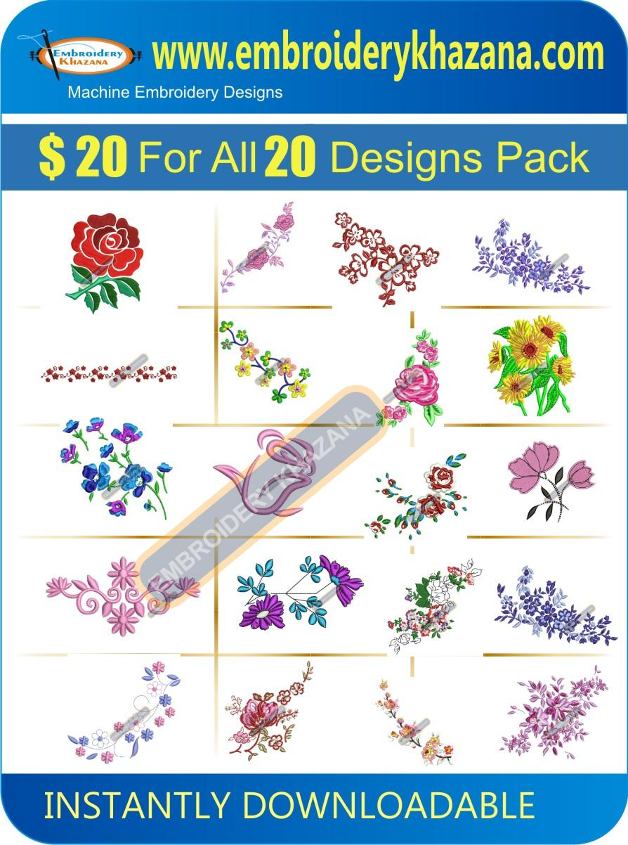 Flower Design Pack 1