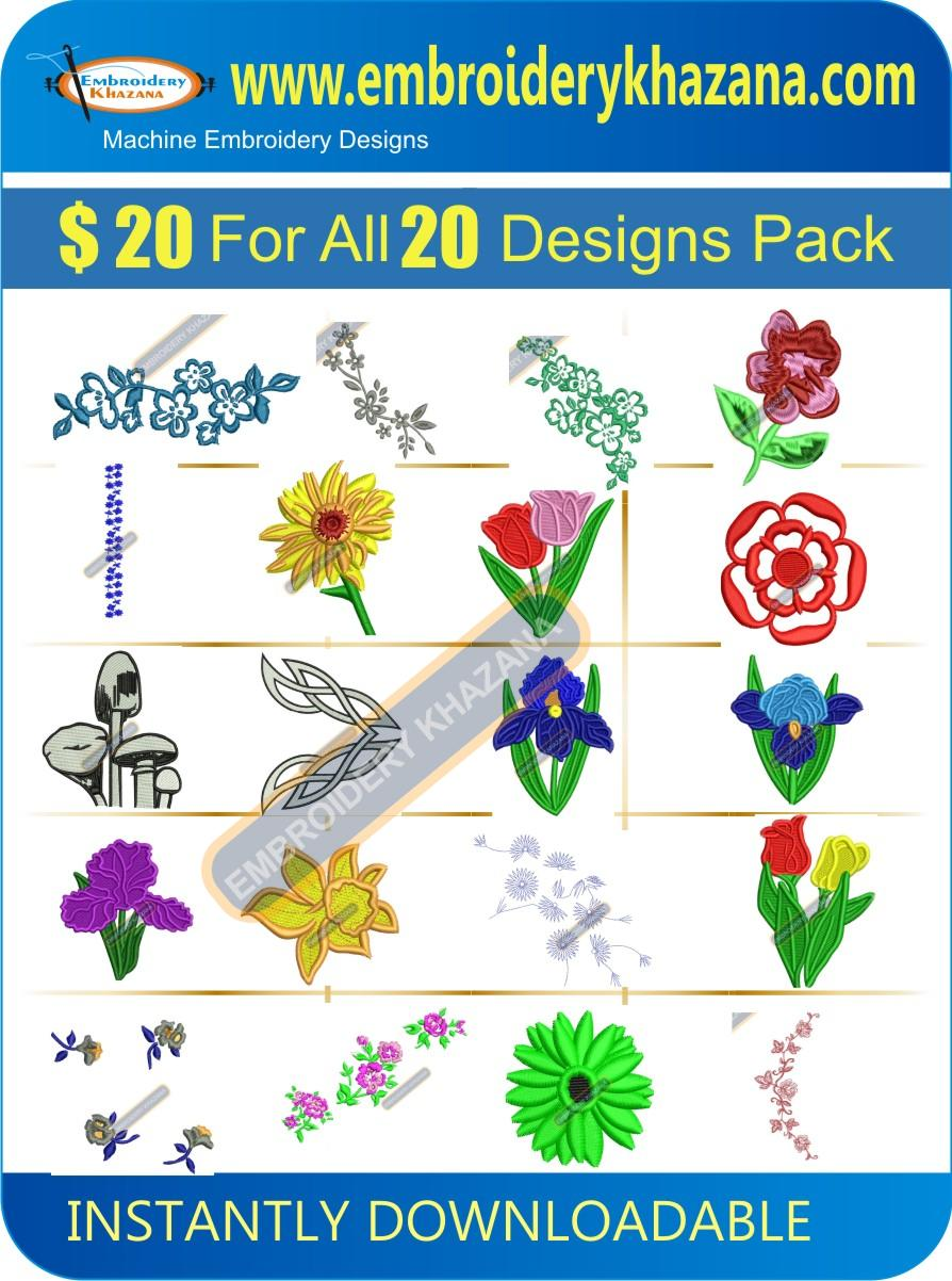 FLOWER DESIGN PACK 2