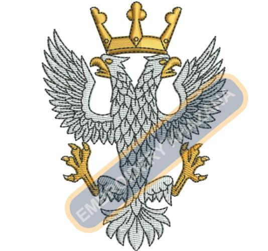eagle army embroidery design