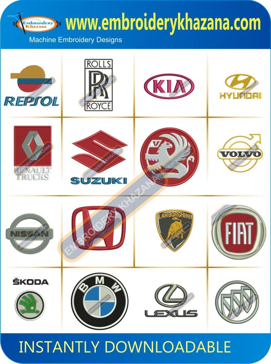 CAR COMPANY LOGO Design Pack