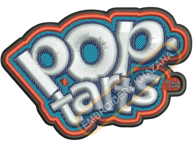 Pop Tarts embroidery design