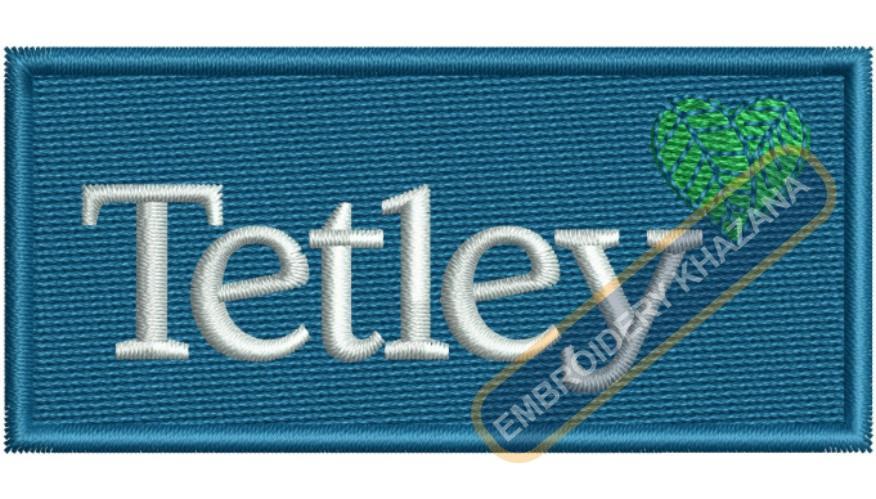 Tetley Logo Embroidery Designs