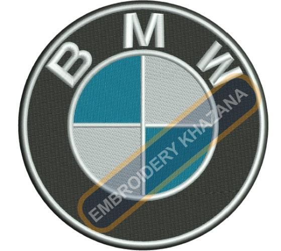 Bmw car Logo embroidery design