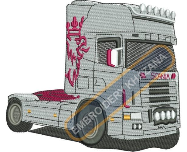 Scania v8 truck