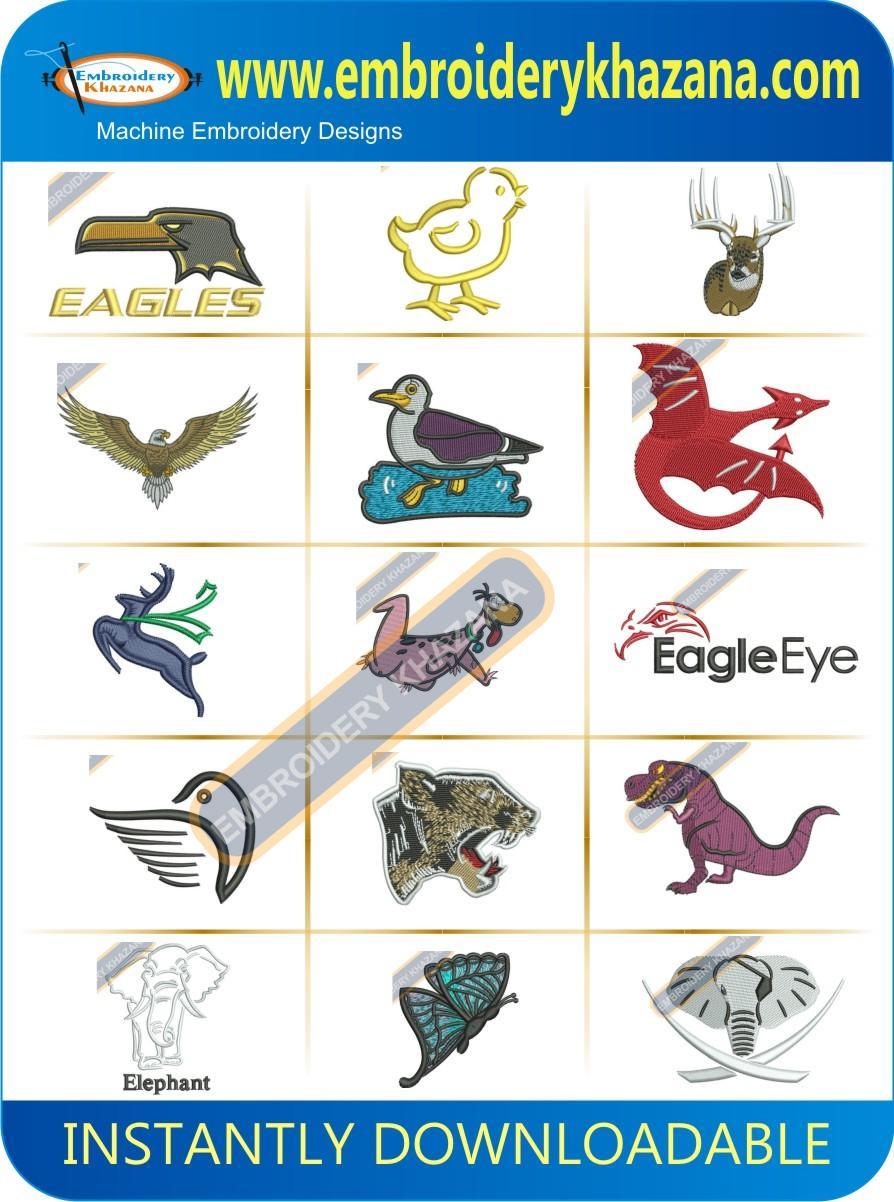 BIRDS AND ANIMALS DESIGN PACK