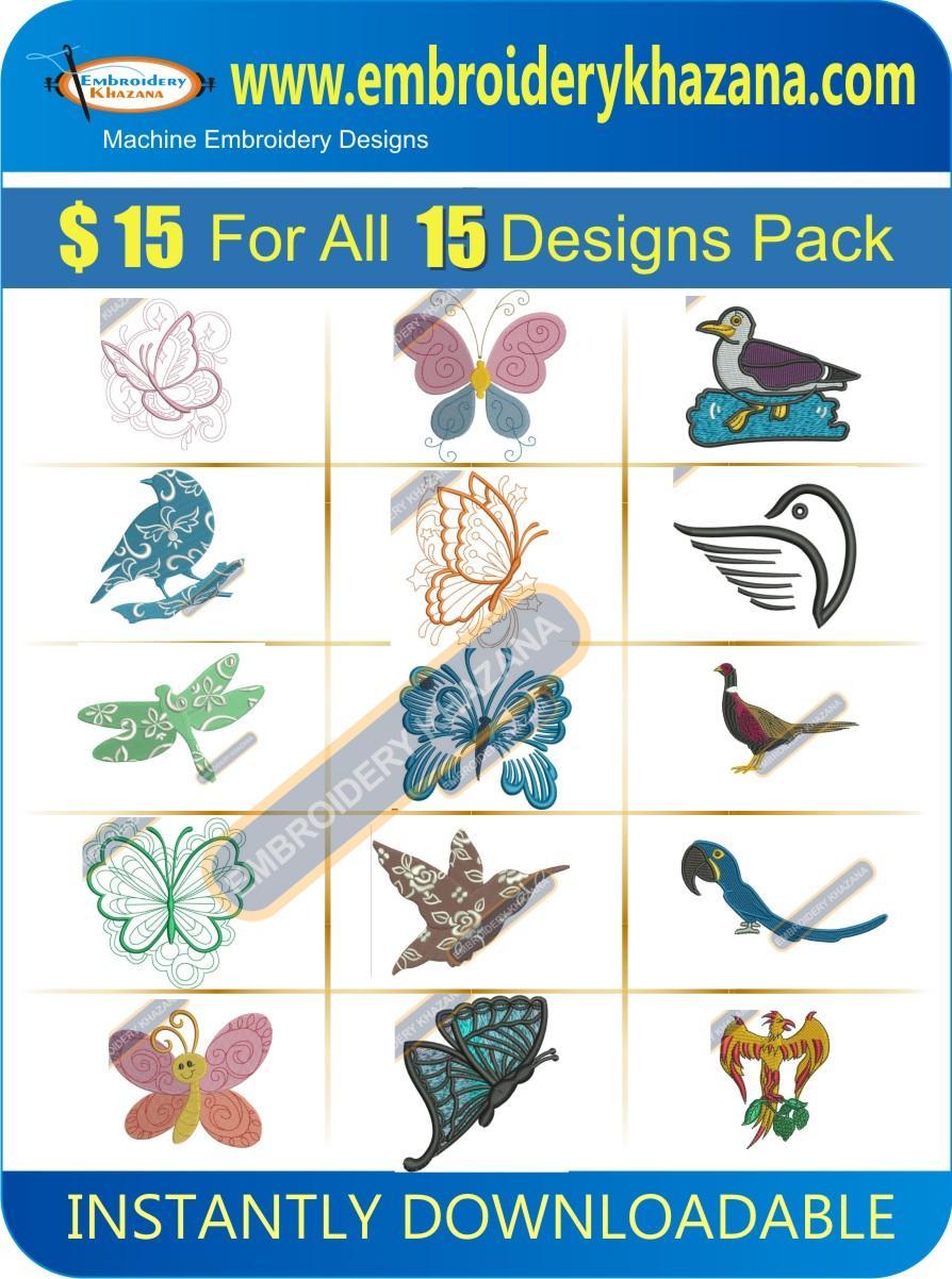 BIRDS DESIGN PACK 1