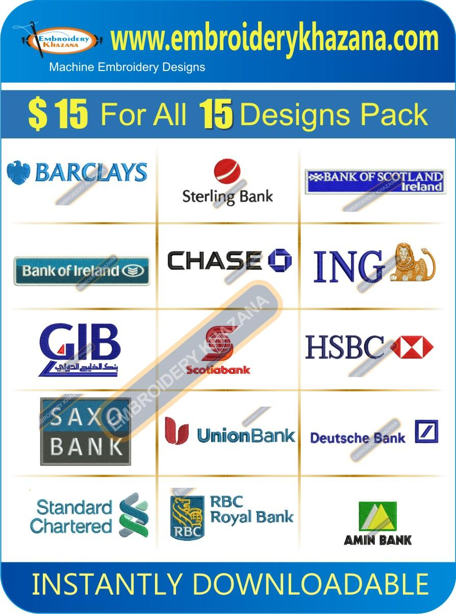 Bank Designs Pack 1