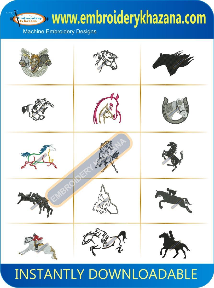 HORSE DESIGN PACK