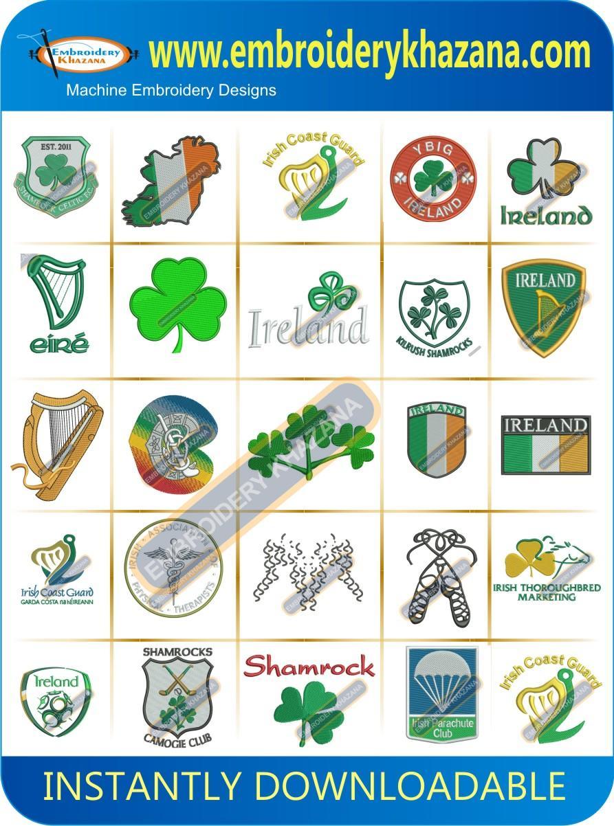 IRISH DESIGNS PACK