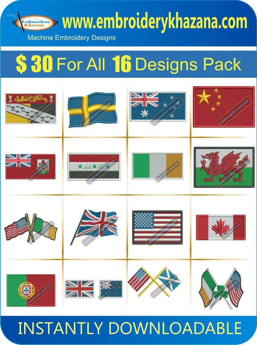 FLAG DESIGNS PACK 2