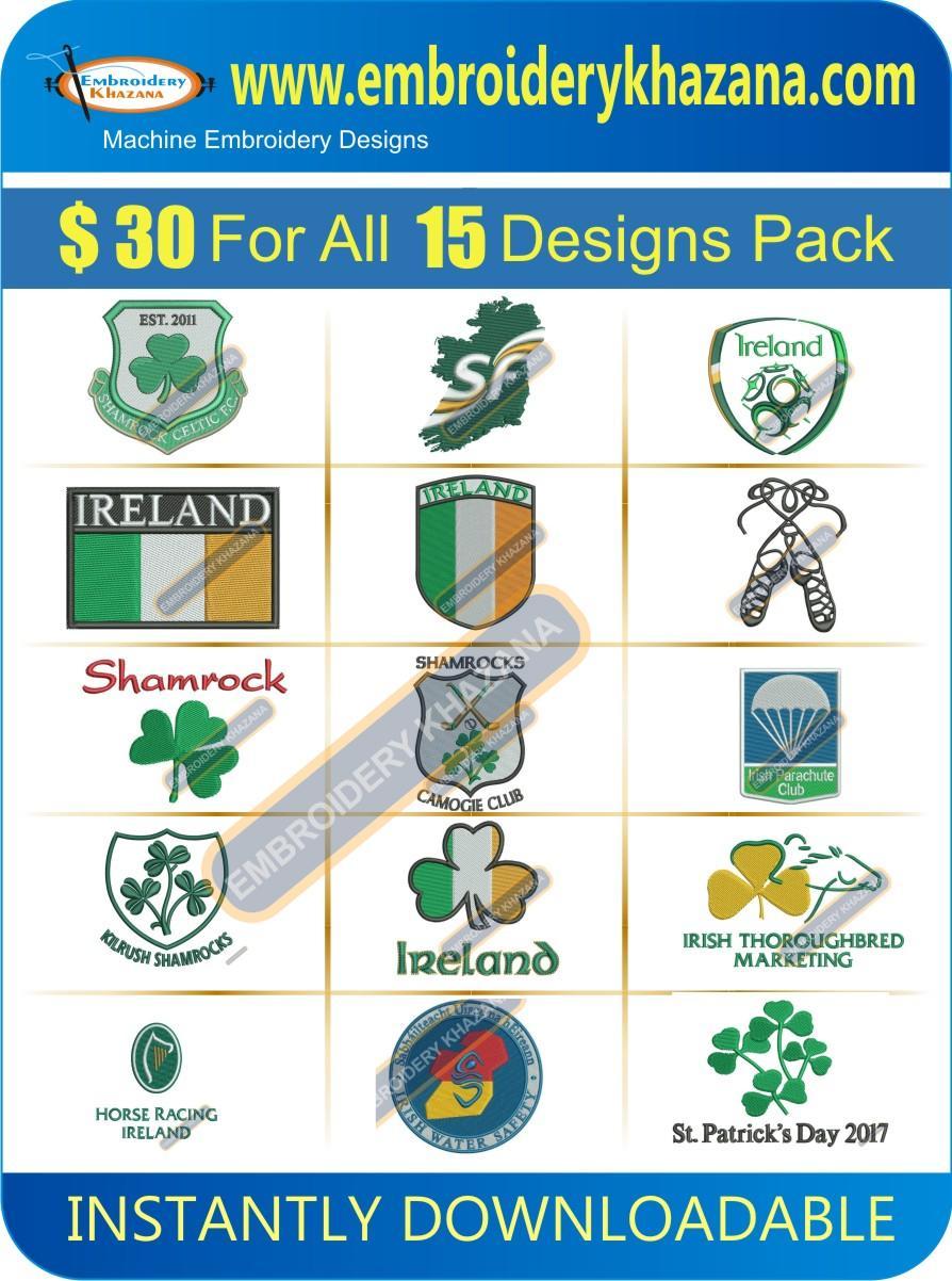 Irish Designs Pack 2